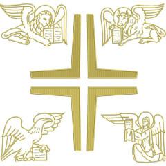 SET OF 30 CM 4 EVANGELISTS