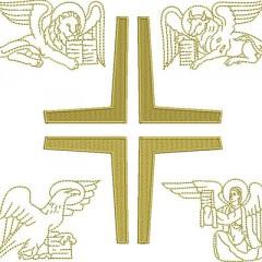 SET OF 20 CM 4 EVANGELISTS