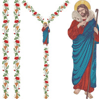 SET FOR CHASUBLE LORD GOOD JESUS 214