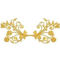FLORAL GOLDEN 24 CM