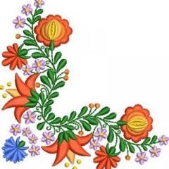 CORNER OF HUNGARIAN FLOWERS
