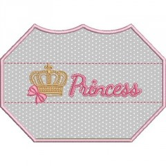 3D EMBROIDERED FINISH MASK PRINCESS