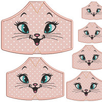 6 MASKS OF PROTECTION FROM XS TO XXL KITTEN 2
