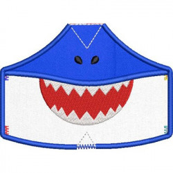 6 MASKS OF PROTECTION FROM XS TO XXL SHARK 8