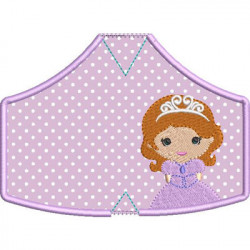 6 MASKS OF PROTECTION PRINCESS 1 FROM XS TO XL