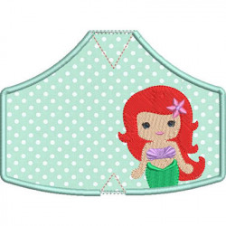 6 MASKS OF PROTECTION PRINCESS 3 FROM XS TO XL
