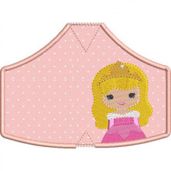 6 MASKS OF PROTECTION PRINCESS 4 FROM XS TO XL