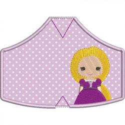 6 MASKS OF PROTECTION PRINCESS 8 FROM XS TO XL