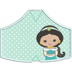 6 MASKS OF PROTECTION PRINCESS FROM 9 XS TO XL