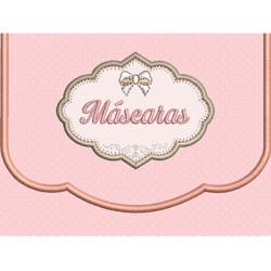 BOLSINHA COM MOLDURA MÁSCARAS