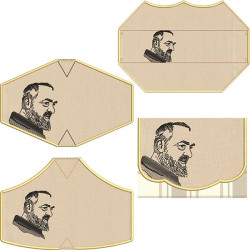 KIT BAG + 4 PADRE PIO´S