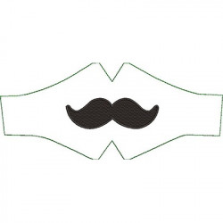 PACKAGE CHILD MASK MOUSTACHE
