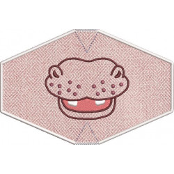 CHILD MASK HIPOPPOMATUS EMBROIDERED FINISH