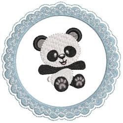 PANDA ON FRAME 2