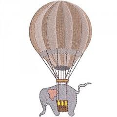 ELEPHANT IN BALLOON
