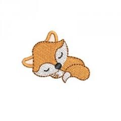 BABY FOX SLEEPING