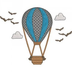 BALLOON WITH LANDSCAPE