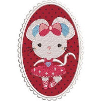 BALLERINA RAT APPLIED FRAME