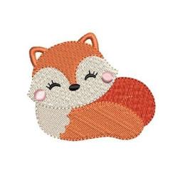 SLEEPING BABY FOX 2