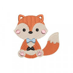 SITTING BABY FOX 2