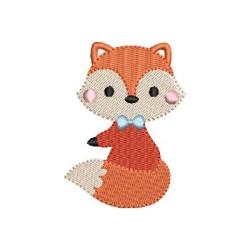 SITTING BABY FOX 3