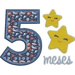 MESVERSÁRIO 5 MESES MENINO