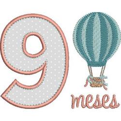 MESVERSÁRIO 9 MESES MENINA