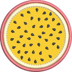 DRINK COASTER PASSION FRUIT