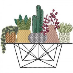 TABLE OF MISCELLANEOUS VESSELS AND CACTUS