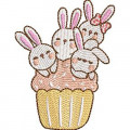 BUNNIES IN CUP...