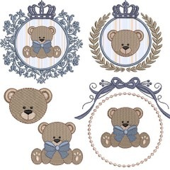 PRINCE BEAR AND PRINCESS BEAR PACKAGE