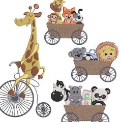 GIRAFFE PACKAGE AND YOUR FRIENDS