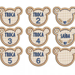 SET OF TAGS FOR MATERNITY 5