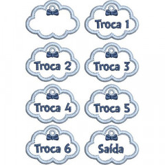 SET OF TAGS FOR MATERNITY 2