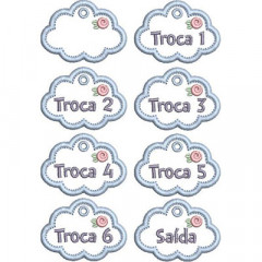 SET OF TAGS FOR MATERNITY 1