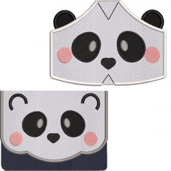 KIT BAG AND MASKS PANDA 5 SIZES