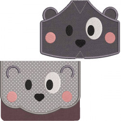 KIT BAG AND MASKS PUPPY 5 SIZES