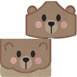KIT BAG AND MASKS BEAR 5 SIZES