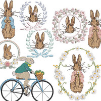 EASTER BUNNIES PACKAGE 1