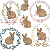 EASTER BUNNIES PACKAGE 2