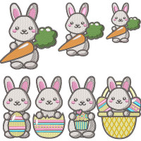 EASTER BUNNIES PACKAGE 3