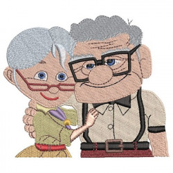 ELDERLY COUPLE...