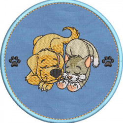 DOG AND CAT TO CUSTOMIZE