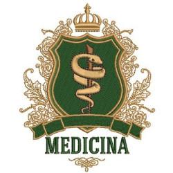 ESCUDO DE MEDICINA 13