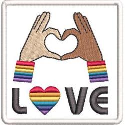 LOVE LGBT 6 PARCHE
