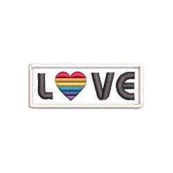 LOVE LGBT 9 PARCHE