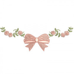 FLORAL FRAME WITH TIE 35