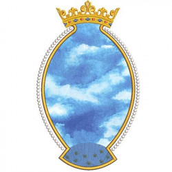 MEDAL FOR HOLY WITH CROWN