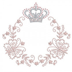 FRAME CROWN WITH BUTTERFLIES 20 CM