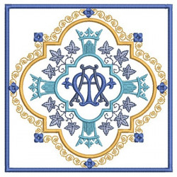 EMBROIDERED ALTAR CLOTHS MARIAN 182